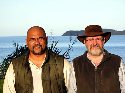 Michael And Paul At Martin Bay
